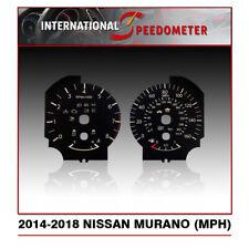 2014 - 2018 Nissan Murano Speedometer Faceplate Mph - (50pcs)