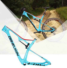 29er MTB Bike Frame T1000 Carbon Mountain Bicycle Frame Rear Suspension Frameset