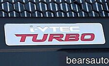 Genuine Acura Honda i-vtec turbo badge emblem new vtec ivtec FREE SHIPPING
