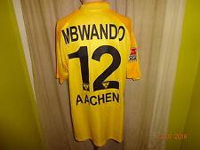 """Alemannia Aachen Jako Matchworn Trikot 2003/04 """"A M"""" + Nr.12 Mbwando Gr.XL"""