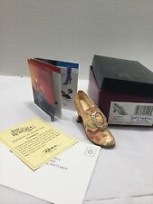Vtg 2001 Just The Right Shoe #25129 Countess Miniature Ornament Box&papers