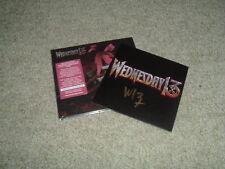 WEDNESDAY 13 - CONDOLENCES - LIMITED CD ALBUM + SIGNED PHOTO CARD - NEW & SEALED