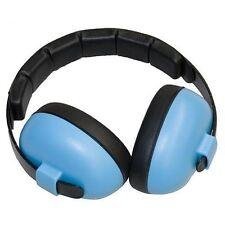 Baby Banz Blue Mini Earmuffs Soft Cup Ear Muffs Kids Babies Infant Protect