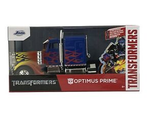Jada Toys 2021 Hollywood Rides Transformers T1 Optimus Prime 1:32