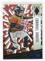 Emmanuel Sanders 2016 Panini Phoenix Red Parallel #32 Denver Broncos Football