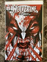 WOLVERINE: BLACK, WHITE & BLOOD #1 (TYLER KIRKHAM EXCLUSIVE TRADE VARIANT)