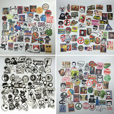 50pcs Mixed Waterproof Funny Skateboard Snowboard Luggage Stickers Decals