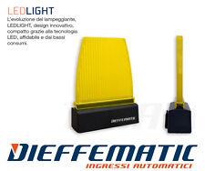 LAMPEGGIANTE LAMPEGGIATORE LED PER CANCELLO CON SUPPORTO DA PARETE 230v 24v 12v