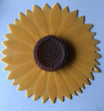 "Charles Viancin Sunflower Silicone Lid 9"" Food Storage Universal Medium Lid 1102"