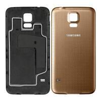 Genuine Original Battery Cover Fits Samsung Galaxy S5 G900F i9600 Copper Gold