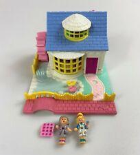 Polly Pocket Pollyville Grandma's Cottage Vintage Playset Complete 1994 90s