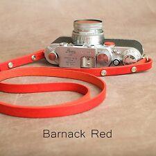 "The 4829cmeggleston "" cuir Caméra lanière - 115cm - Barnack Rouge"