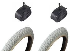 "16"" x 1.75"" Comp 3 III BMX Retro Burner Old School Kids Freestyle White Tyre"