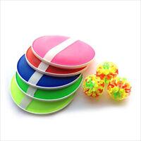 Outdoor-Aktivitätsspiel Lustiges Sticky Ball-Spiel mit 32 Saugbechern 2 RoundAB