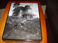 Rare Bates Mansion Psycho Model Kit 50th anniversary Tin sealed bags