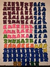 Lot Original 148 Jojo's Bouncin' Bone-Heads Laor Toys Rose Jaune Vert Bleu Foot