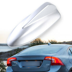 Volvo Style Shark Fin Antenna Universal Fit Static Dummy Painted Silver S40 C30