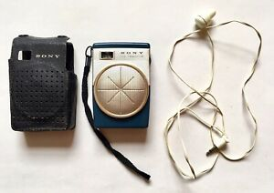 Vintage 1960's Pocket SONY TR-620 Six Transistor Radio MW (AM) Great Condition