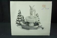 """The Original Snow Village """"Winter Fountain"""" In Original Box"""