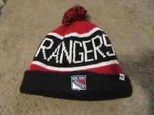 47 Brand Knit Beanie SHORTSIDE New York Rangers royal