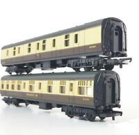 LIMA OO GAUGE MODEL RAILWAYS - BR WESTERN REGION Mk1 RESTAURANT & FULL BRAKE SET