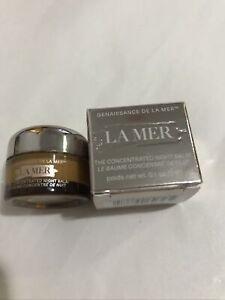 La Mer The Concentrated Night Balm 0.1 oz. /3ml NIB