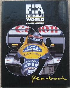 FORMULA 1 WORLD CHAMPIONSHIP 1989 HARDBACK