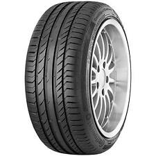KIT 2 PZ PNEUMATICI GOMME CONTINENTAL CONTISPORTCONTACT 5 SUV SSR MOE 235/45R19