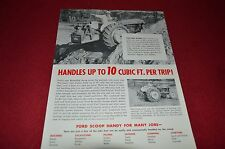 Ford Tractor 706 Reversible Rear Mounted Scoop Dealer's Brochure LCPA2