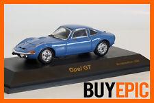 Schuco OPEL GT 1:43, spécial edition 1998, bleu clair, Blue, maquette de voiture, nouveau & OVP