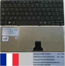 Azerty Keyboard French ACER AS1830T NSK-AQS0F 9Z.N3C82.S0F KB.I110G.097 Black