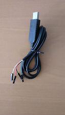 Cable Adaptateur convertisseur USB vers Serie RS232 TTL UART PL2303HX