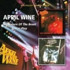 The Nature of The Beast/power Play 5017261210449 by April Wine CD