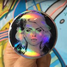 DEBBIE HARRY BLONDIE New York Punk girl power feminist 2.25 holographic button