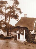 Ephemera Reprint Picture Winsford The Royal Oak Inn 1930 Da3