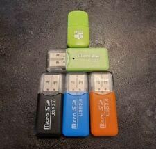 Micro SD USB Card Reader Kartenleser SDHC/SDHX Speicherkarten Adapter