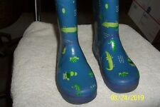 Rain Boots Kids Small 7 1/2 Inches 12 ? Long No Brand