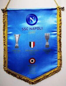    GAGLIARDETTO NAPOLI ORIGINALE ANNO COPPA ITALIA 2011-2012   