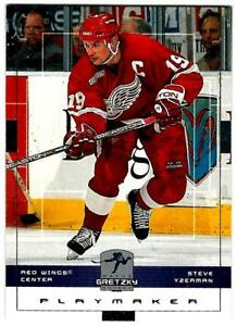 1999-00 Upper Deck Wayne Gretzky Hockey STEVE YZERMAN (ex-mt) Detroit Red Wings