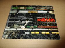 Märklin Katalog 1979 original Hauptkatalog 1979 D +  HO Lok - Service