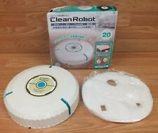 Unbranded Clean Robot Battery Operated Automatic Floor Cleaner / Duster *READ*