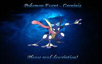 Pokemon Greninja Battle Bond Demo Distribution Event - Sun/Moon US/UM