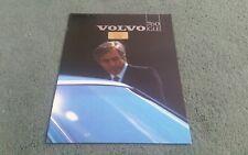 1982 VOLVO 760 GLE PETROL UK 12 PAGE BROCHURE R Lloyd Motors Cockermouth
