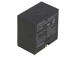 1 pc. G4W-2212P-US-TV5 24DC  OMRON  Relais  Relay  DPST-NO 24VDC  10A  720R  #BP