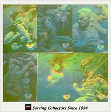 1996 Skybox Superman Hologram Seris Gold Parallel Card Set (49) (Missing No30)