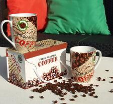 Kaffeebecher-Sets im Landhaus-Stil