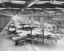 8x10 photo B-32 & bomber factory, Fort Worth TX 1944