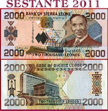 SIERRA LEONE - 2.000 2000  LEONES 1.3. 2003  -  P  26b  -  FDS / UNC