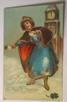 """""""Neujahr, Kinder, Kirche, Schneeball"""" 1907 ♥"""