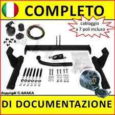 Gancio traino fisso Ford Mondeo I II III SW 93-96 00-07 + kit elettrico 7-poli